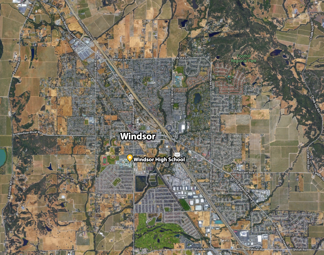 Overview Map of WHS