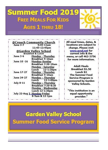 Garden Valley School