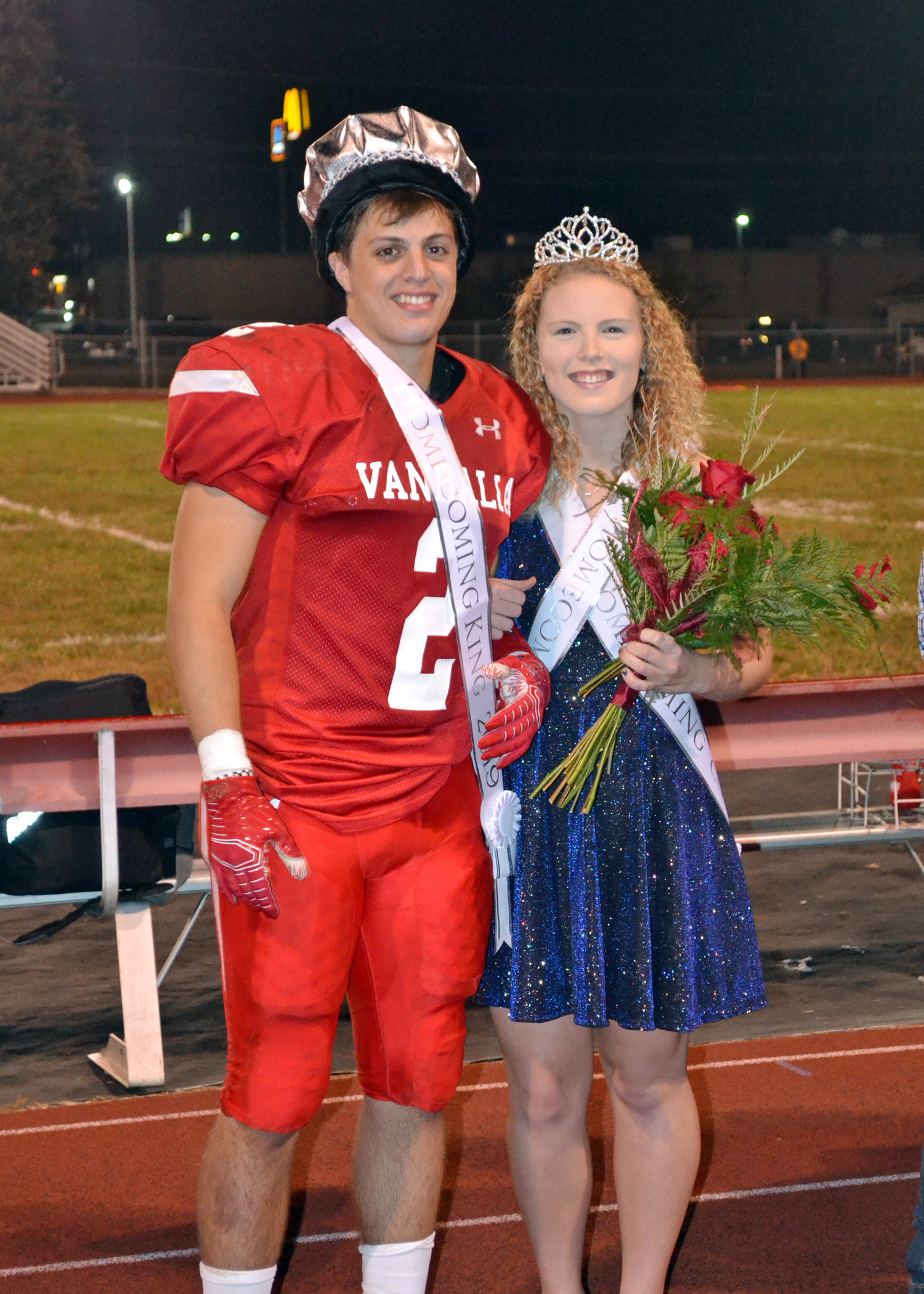 King Thomas and Queen Lanee