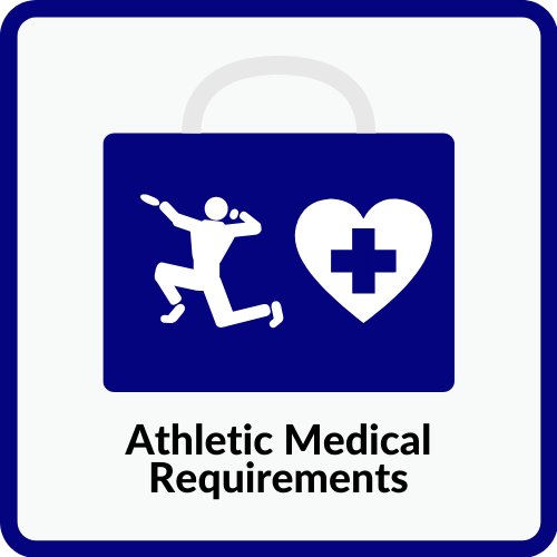 Athletic Medical Requirements