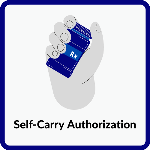 Self-Carry Authorization Form