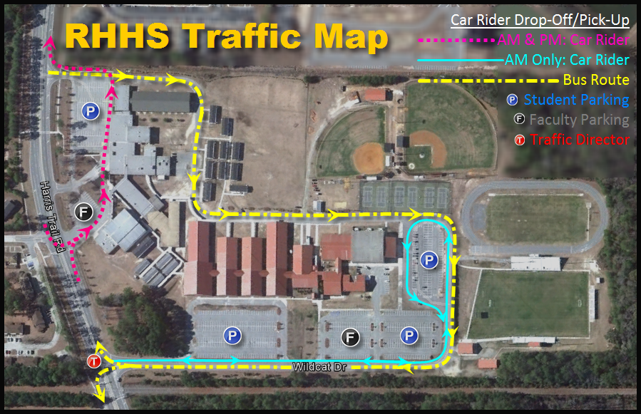 Richmond Traffic Map.Bryan County Schools